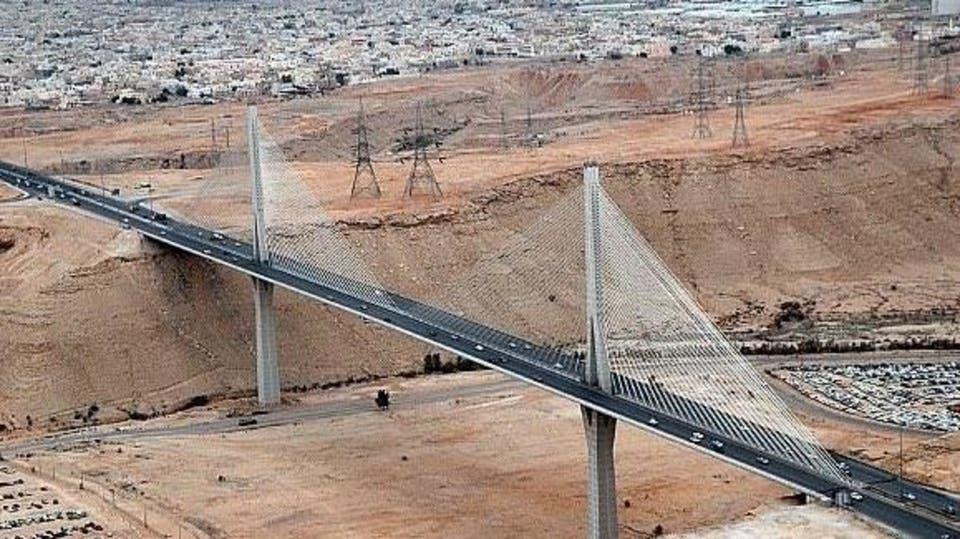 الجسر المعلق بالرياض