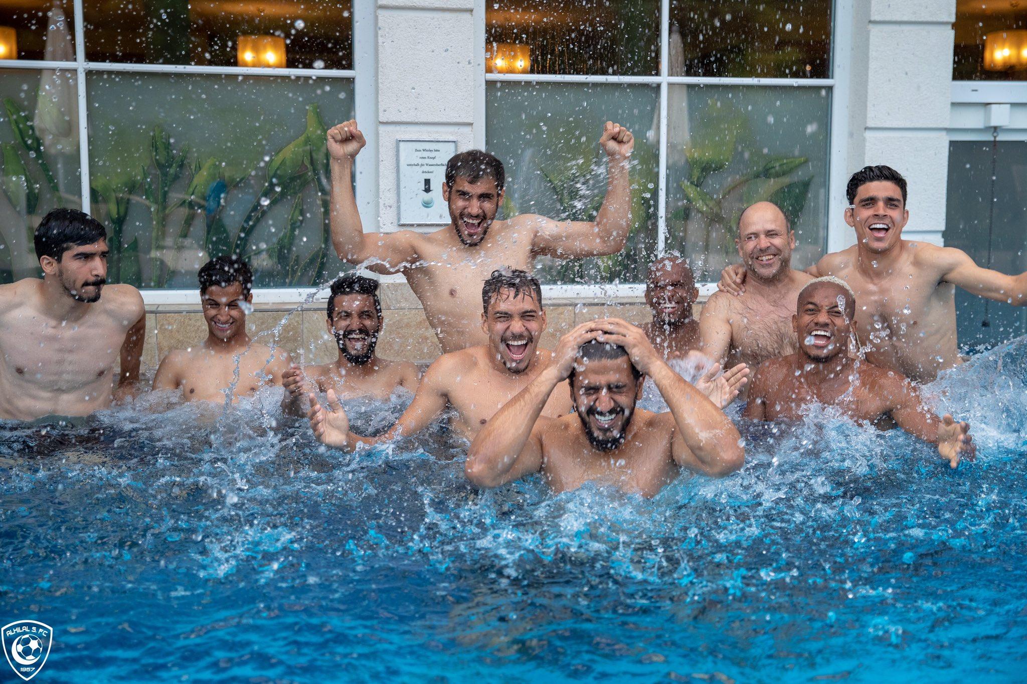مسبح نادي الهلال السعودي