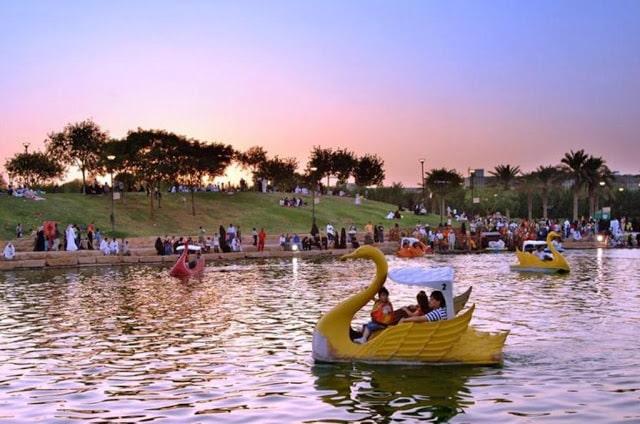 الانشطة الترفيهية في حديقة السلام الرياض