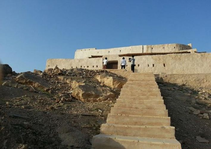 تصميم القلعة العثمانية فى فرسان