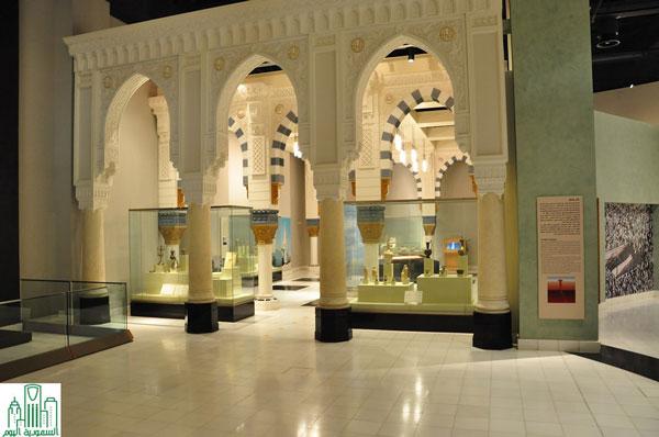 قاعة الحج والحرمين بالمتحف الوطني السعودي