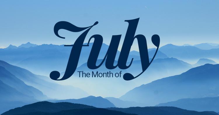 يوليو شهر كم